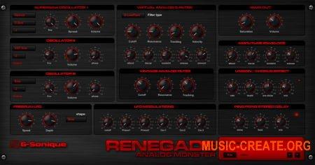 G-Sonique Renegade v1.3 R2 (Team RET) - синтезатор