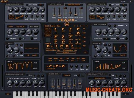 Infected Sounds Fearx v1.0.0 Regged (Team RET) - синтезатор