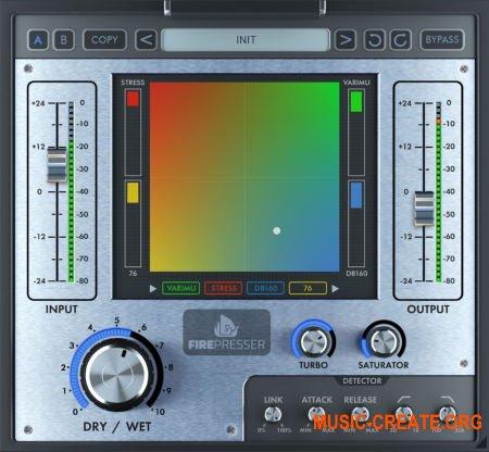 Fire Sonic Fire Presser v1.1 (Team R2R) - плагин компрессии