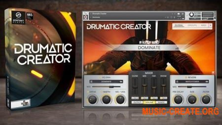 In Session Audio Drumatic Creator (KONTAKT) - библиотека ударных