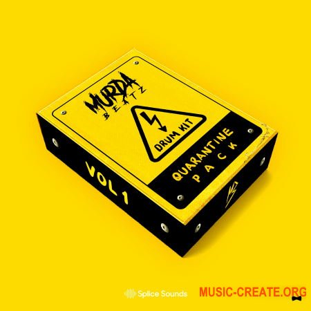 Splice Sounds MURDA BEATZ QUARANTINE KIT (WAV) - сэмплы Hip Hop