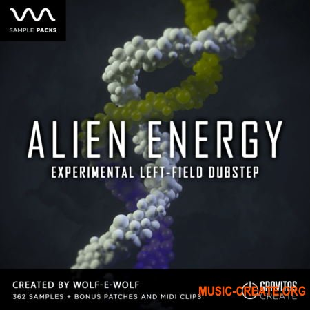 Gravitas Create Alien Energy (WAV MIDI Serum) - сэмплы Trap, Dubstep