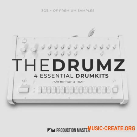 Production Master The Drumz (WAV) - драм сэмплы