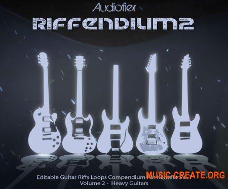 Audiofier Riffendium 2 (KONTAKT) - библиотека электрогитары