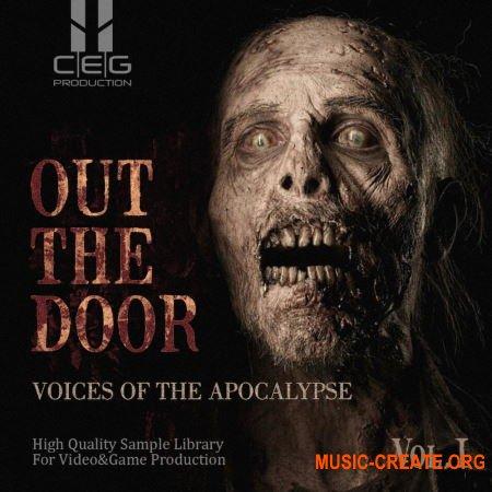 CEG Production Out The Door: Voices Of The Apocalypse Vol.I (WAV) - вокальные сэмплы