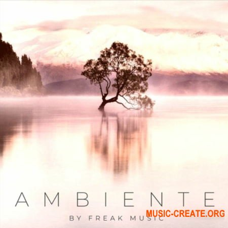 Freak Music Ambiente (WAV MIDI SPIRE) - сэмплы Ambient, Chillstep, Chillout