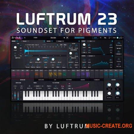 Luftrum Sound Design Luftrum 23 (Arturia Pigments 2)