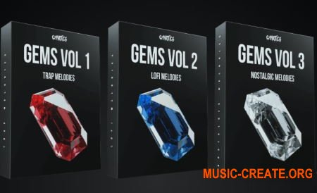 Cymatics Gems Melody Bundle (WAV MIDI) - сэмплы Trap, Lofi