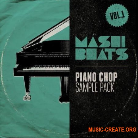 MASHIBEATS Sample Packs Piano Chop vol.1 (WAV) - сэмплы фортепиано