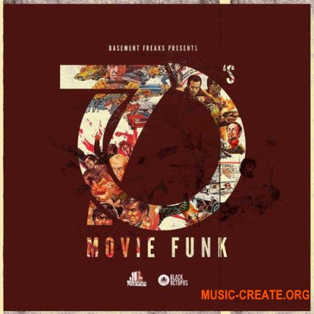 Black Octopus Sound Basement Freaks 70s Movie Funk (MULTiFORMAT) - сэмплы Funk