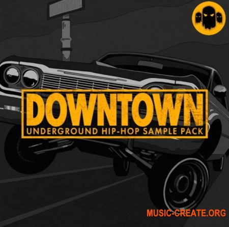 Ghost Syndicate Downtown (WAV) - сэмплы Underground Hip Hop
