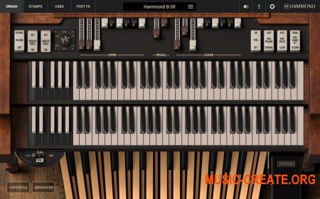 IK Multimedia Hammond B-3X v1.3.0 WIN OSX (Team R2R) - виртуальный органа Hammond B-3X