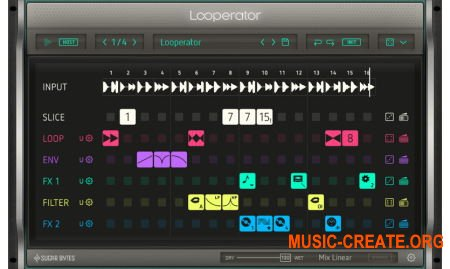 Sugar Bytes Looperator v1.0.4 WIN OSX (Team R2R) - мульти-эффект плагин
