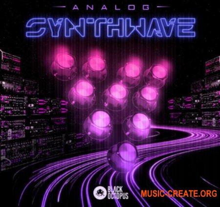 Black Octopus Sound Analog Synthwave (WAV) - сэмплы Synthwave