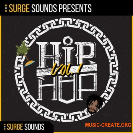 Surge Sounds Hip Hop Vol. 1 (WAV MiDi SERUM) - сэмплы Hip Hop, Rap