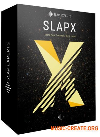 Slap Experts SlapX (MULTiFORMAT) - сэмплы Trap, Hip Hop, Future Bass, Lo-Fi