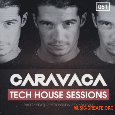 Bingoshakerz Caravaca Tech House Sessions (WAV) - сэмплы Tech House, Tribal House