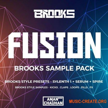 Fusion - Brooks Sample Pack Vol.1 (WAV FLP Serum Sylenth1 Spire) - сэмплы Future House