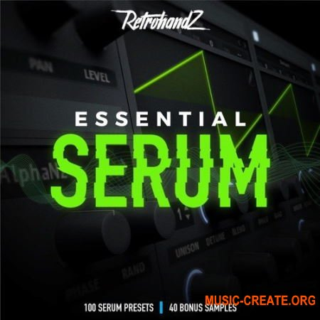Retrohandz Essential (Serum presets)