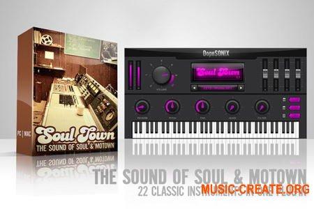 DopeSONIX Soul Town v1.2 WiN (Team P2P) - виртуальный клавишный инструмент