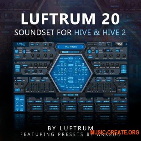 Luftrum 20 Soundset (u-he Hive 2)