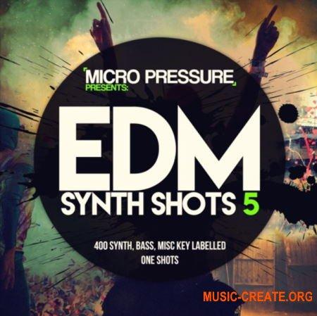 HY2ROGEN EDM Synth Shots 5 (MULTiFORMAT) - сэмплы EDM, Dance