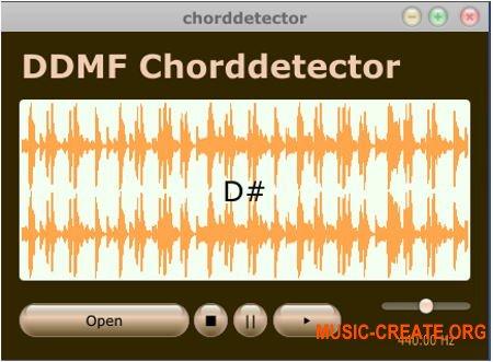 DDMF Chorddetector v1.2.3 (Team R2R) - плагин обнаружения аккордов