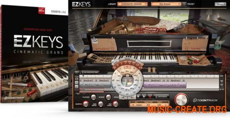 Toontrack EZkeys Cinematic Grand v1.0.0 WiN OSX (Team R2R) - библиотека звуков рояля
