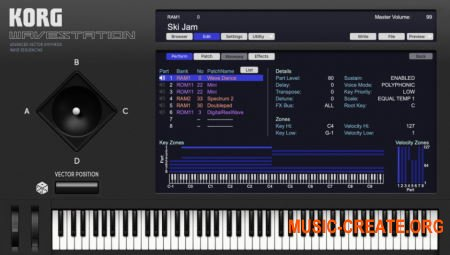 KORG WAVESTATION v2.0.2 (Team R2R) - виртуальный синтезатор