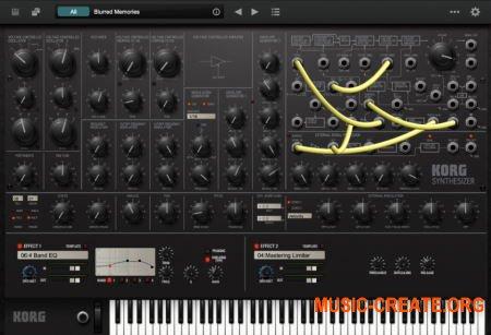 KORG MS-20 v2.0.5 (Team R2R) - виртуальный синтезатор MS-20