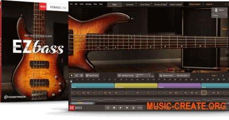 Toontrack EZBass v1.0.0 CE (Team V.R) - библиотека бас гитары