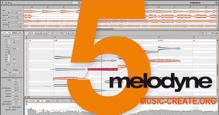 Celemony Melodyne 5 Studio v5.0.0.048 (Team RET / CODESHiNE) - корректор тональности