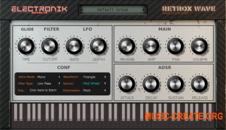 Electronik Sound Lab Retrox Wave v1.4.0 WiN64/OSX RETAiL (SYNTHiC4TE) - ромплер ретро звуков