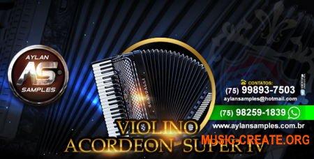 Aylan Samples Acordeon Scandalli Super IV (KONTAKT) - библиотека звуков аккордеона