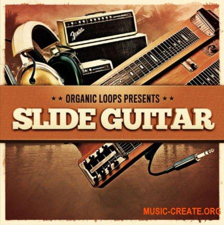Organic Loops Slide Guitar (WAV REX) - сэмплы гитары