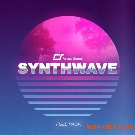 Reveal Sound Spire - Synthwave Pack Vol.1 - Full Pack (Spire Presets WAV) - сэмплы Synthwave