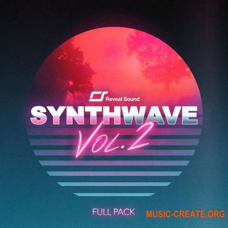 Reveal Sound Spire - Synthwave Pack Vol.2 - Full Pack (Spire Presets WAV) - сэмплы Synthwave