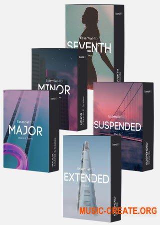 Essential MIDI Complete Midi Chord Pack (MiDi)