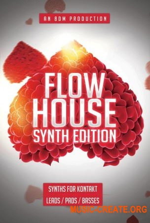 8DIO Flow House Synth Edition (KONTAKT) - библиотека синтезаторов