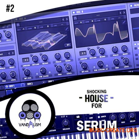 Vandalism Shocking House For Serum 2 (Serum presets)