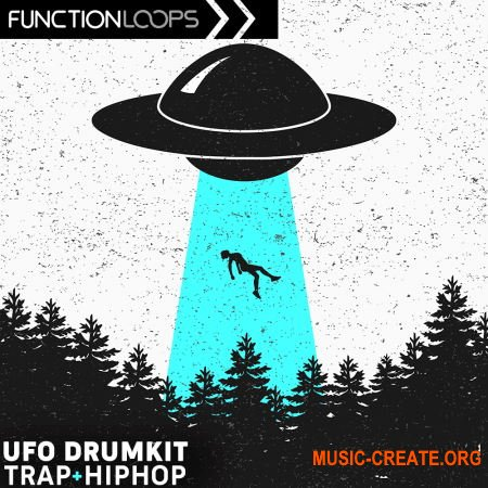 Function Loops UFO Drumkit Trap And Hip Hop (WAV) - сэмплы Trap, Hip Hop