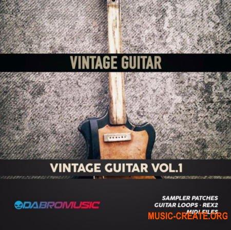 DABRO Music Vintage Guitar (MULTiFORMAT) - сэмплы винтажной гитары