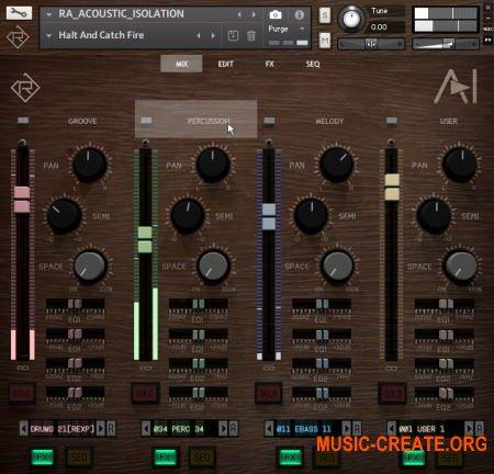 Rigid Audio Acoustic Isolation (KONTAKT) - звуковой модуль
