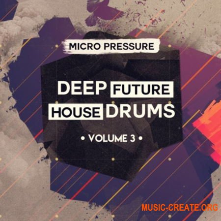 HY2ROGEN Deep Future House Drums 3 (MULTiFORMAT) - сэмплы Deep House, Future House, Bass House