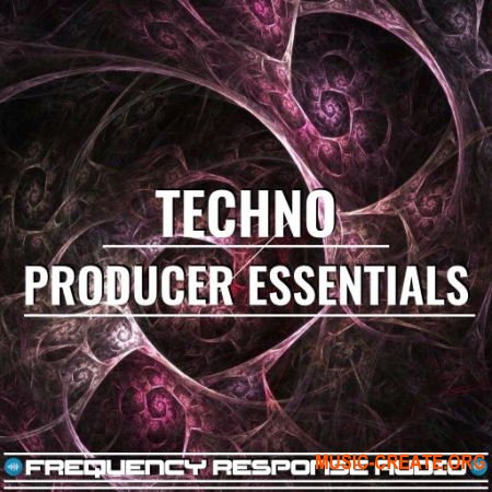 Frequency Response Audio Techno Producer Esssentials (WAV) - сэмплы Techno, Tech House