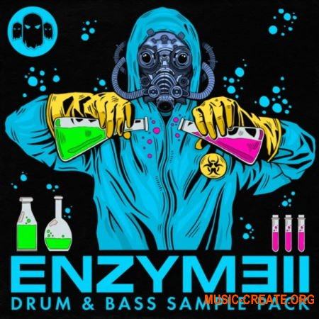 Ghost Syndicate Enzyme II (WAV) - сэмплы Drum and Bass