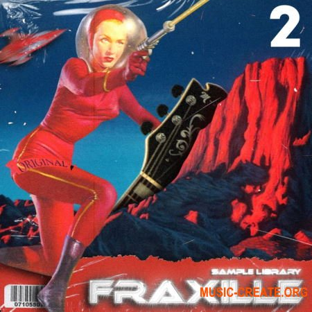 Fikon Records Fraxille Sample Library Vol. 2 (WAV) - сэмплы гитар, клавишных