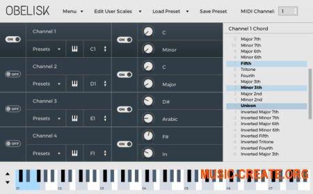 FrozenPlain Obelisk VST AU v1.1.6 RETAiL MAC/WiN - MIDI инструмент