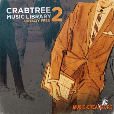 Crabtree Music Library - Royalty Free Vol.2 (Compositions and Stems) (WAV) - сэмплы Hip Hop