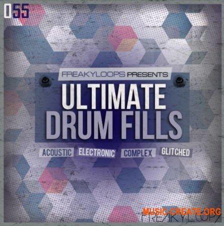Freaky Loops Ultimate Drum Fills (WAV) - сэмплы драм филлов
